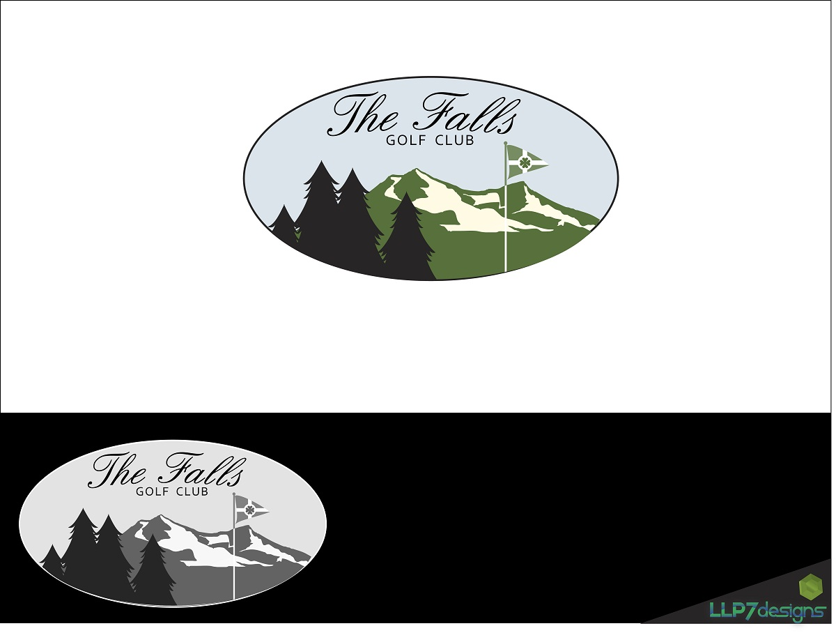 Logo Design by LLP7 - Entry No. 3 in the Logo Design Contest The Falls Golf Club Logo Design.