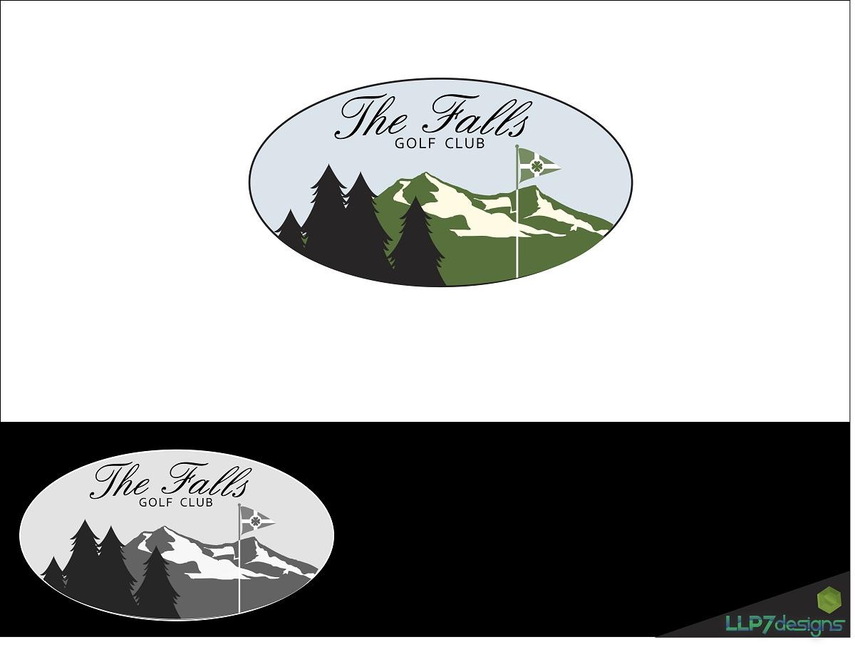 Logo Design by LLP7 - Entry No. 3 in the Logo Design Contest The Falls Golf Club Logo Design.