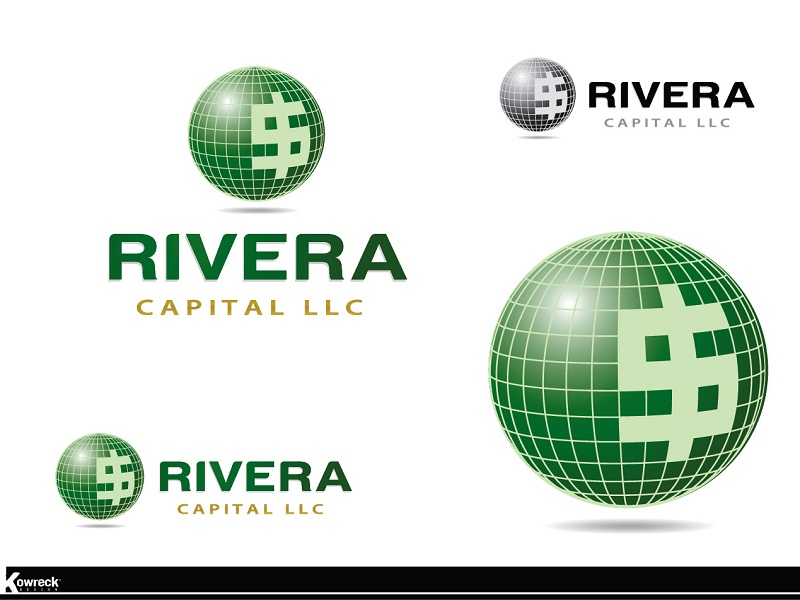Logo Design by kowreck - Entry No. 57 in the Logo Design Contest Logo Design Needed for Exciting New Company Rivera Capital LLC LLC.
