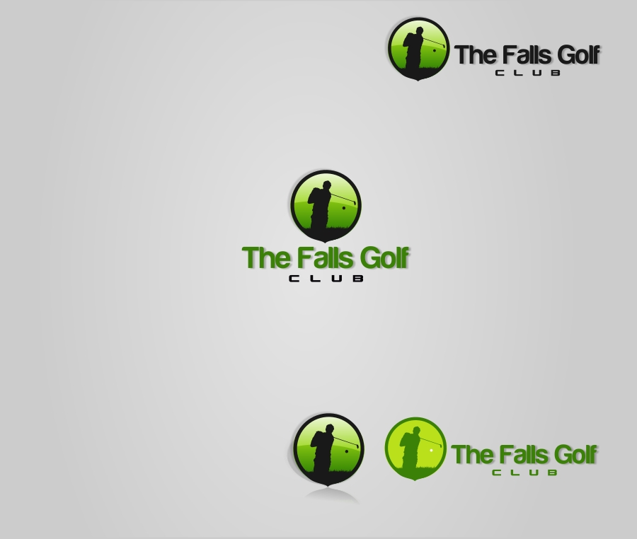 Logo Design by Private User - Entry No. 4 in the Logo Design Contest The Falls Golf Club Logo Design.