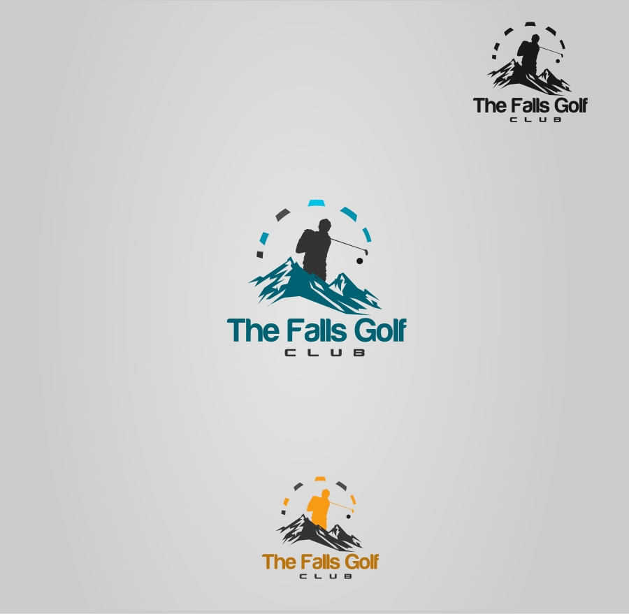 Logo Design by Private User - Entry No. 5 in the Logo Design Contest The Falls Golf Club Logo Design.