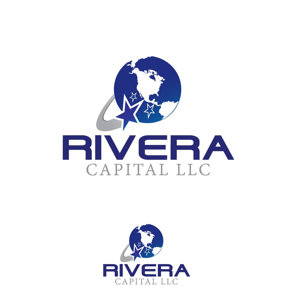 Logo Design by rockin - Entry No. 59 in the Logo Design Contest Logo Design Needed for Exciting New Company Rivera Capital LLC LLC.