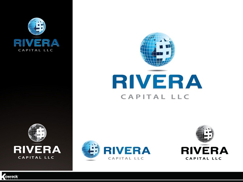 Logo Design by kowreck - Entry No. 63 in the Logo Design Contest Logo Design Needed for Exciting New Company Rivera Capital LLC LLC.