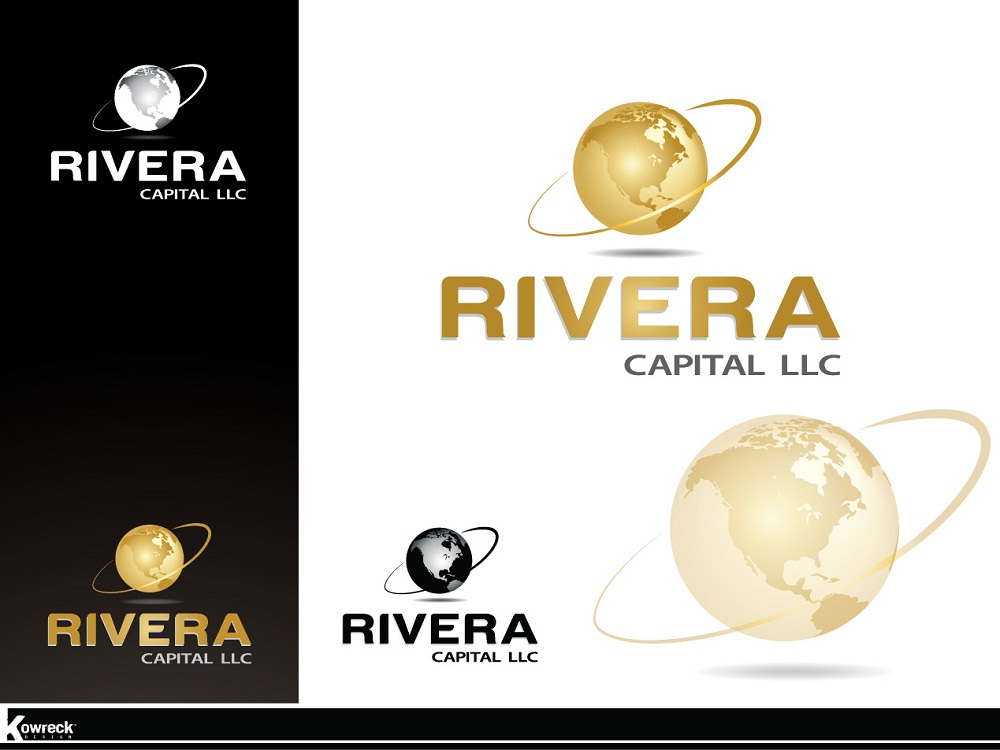 Logo Design by kowreck - Entry No. 66 in the Logo Design Contest Logo Design Needed for Exciting New Company Rivera Capital LLC LLC.
