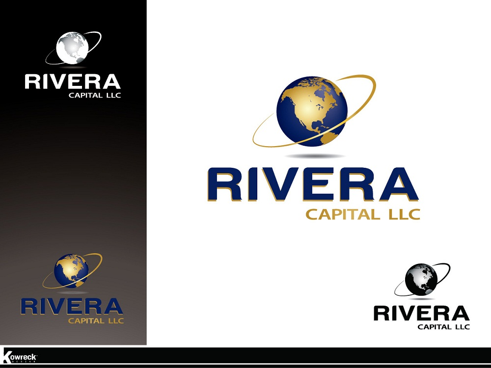 Logo Design by kowreck - Entry No. 67 in the Logo Design Contest Logo Design Needed for Exciting New Company Rivera Capital LLC LLC.