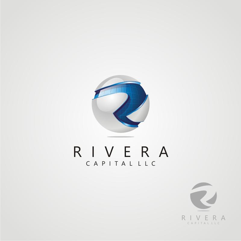 Logo Design by OriQ - Entry No. 69 in the Logo Design Contest Logo Design Needed for Exciting New Company Rivera Capital LLC LLC.