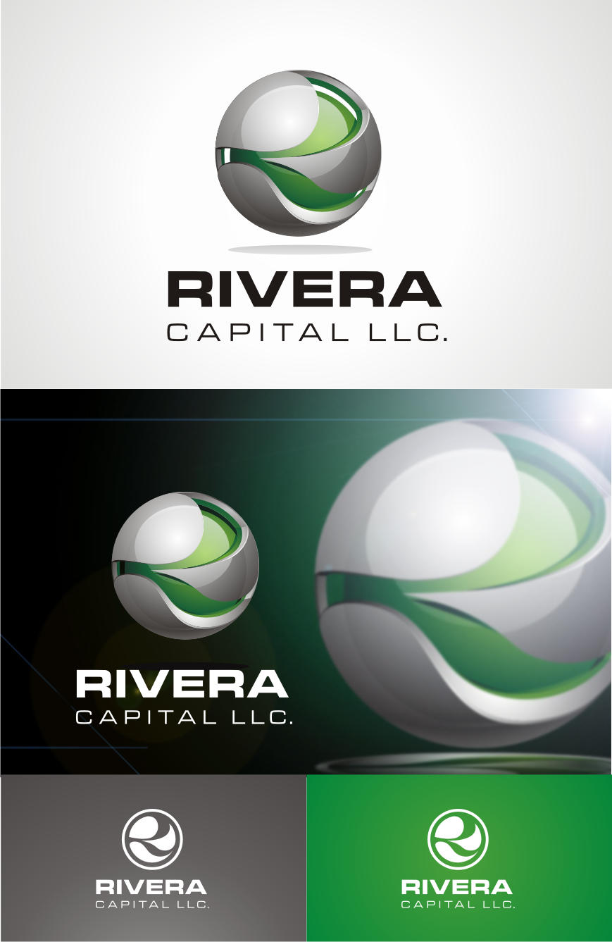 Logo Design by Pay_mo - Entry No. 73 in the Logo Design Contest Logo Design Needed for Exciting New Company Rivera Capital LLC LLC.