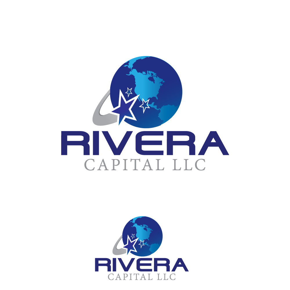 Logo Design by rockin - Entry No. 74 in the Logo Design Contest Logo Design Needed for Exciting New Company Rivera Capital LLC LLC.
