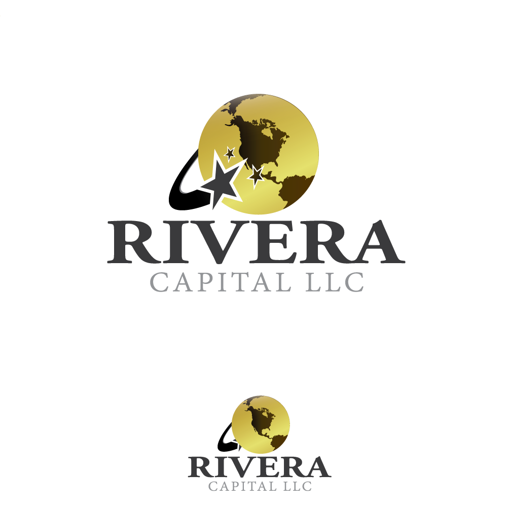 Logo Design by rockin - Entry No. 76 in the Logo Design Contest Logo Design Needed for Exciting New Company Rivera Capital LLC LLC.
