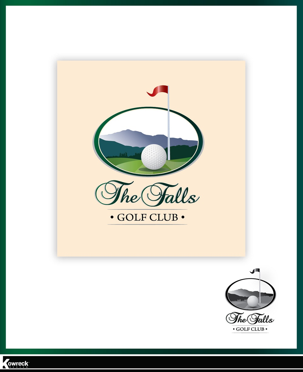 Logo Design by kowreck - Entry No. 9 in the Logo Design Contest The Falls Golf Club Logo Design.