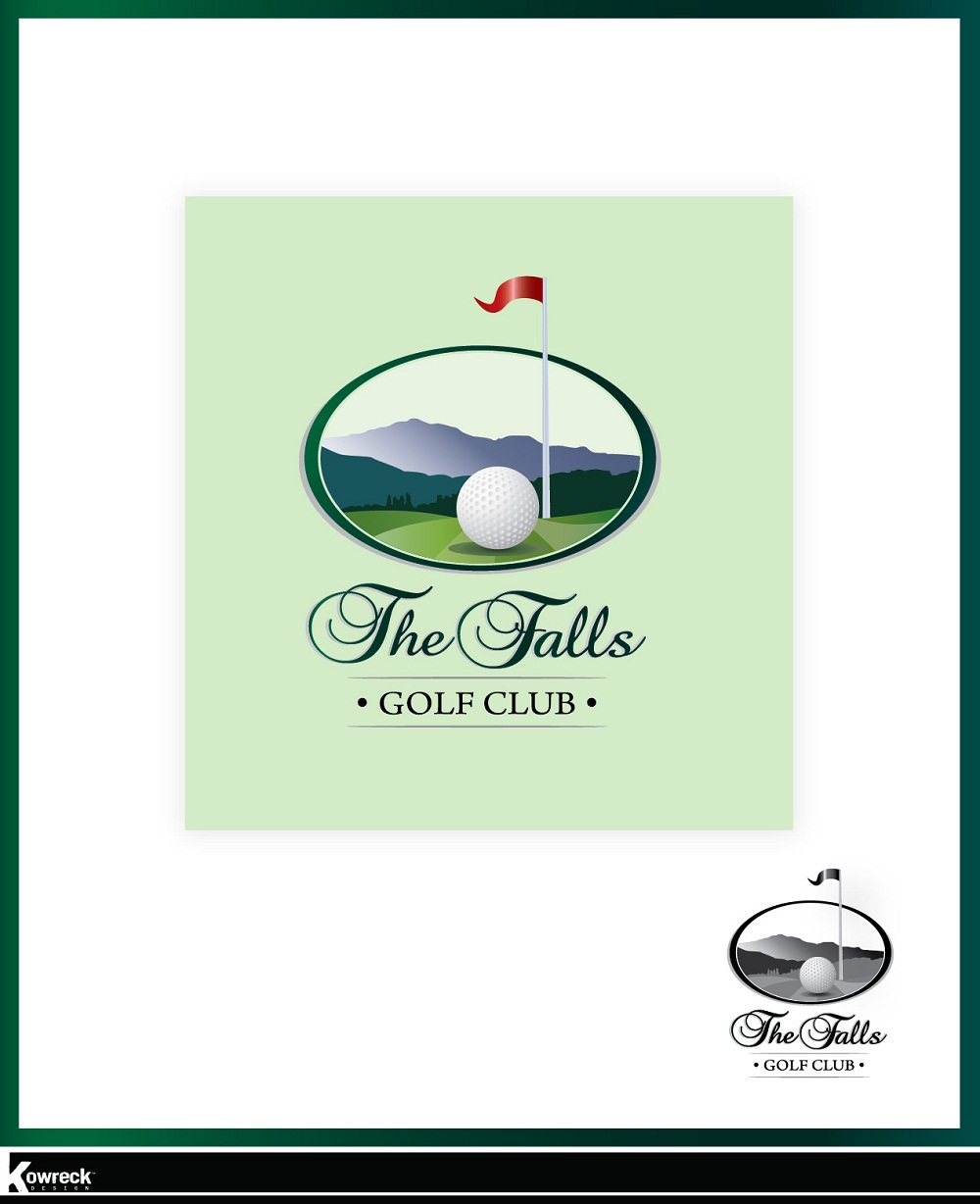 Logo Design by kowreck - Entry No. 10 in the Logo Design Contest The Falls Golf Club Logo Design.