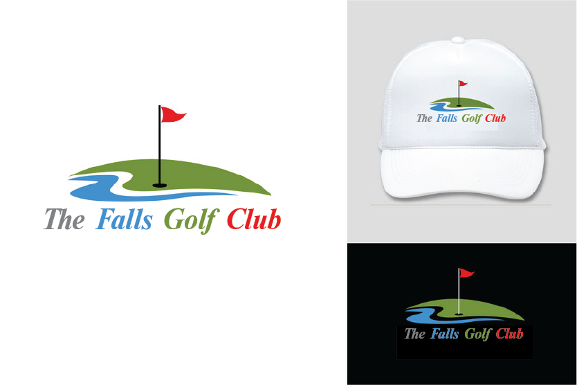 Logo Design by Moin Javed - Entry No. 14 in the Logo Design Contest The Falls Golf Club Logo Design.