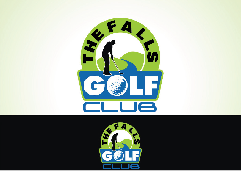 Logo Design by Moin Javed - Entry No. 16 in the Logo Design Contest The Falls Golf Club Logo Design.