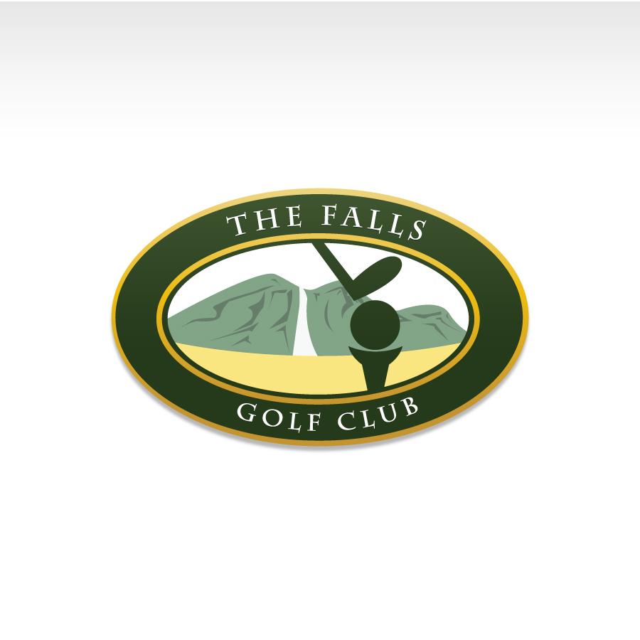 Logo Design by Edward Goodwin - Entry No. 18 in the Logo Design Contest The Falls Golf Club Logo Design.