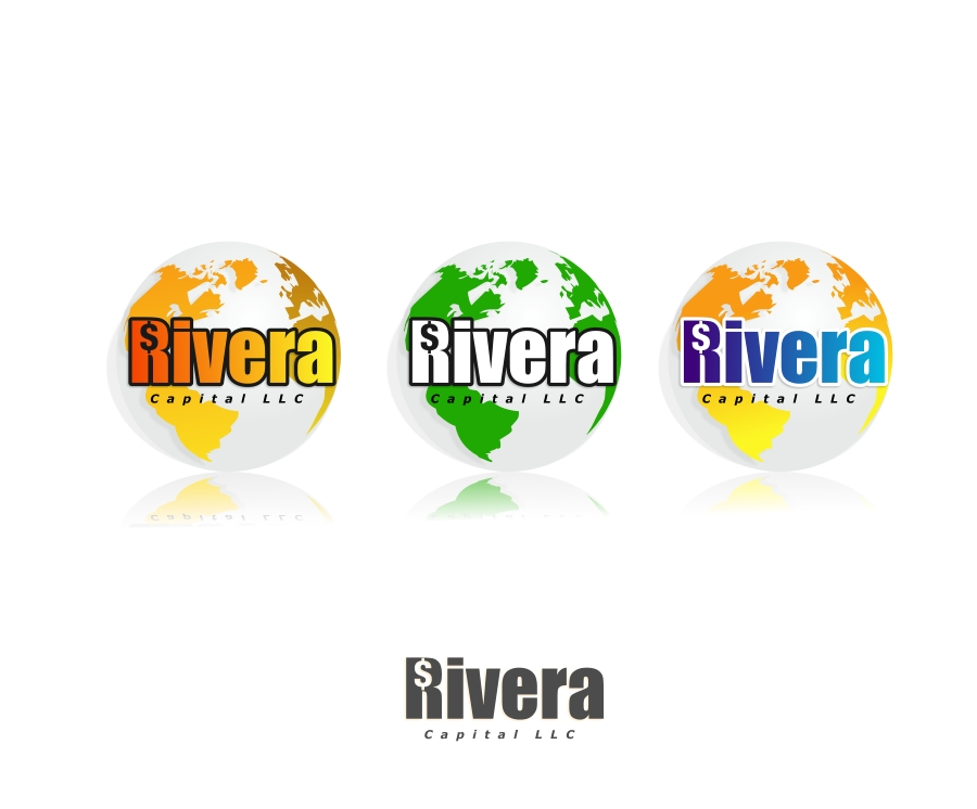 Logo Design by Private User - Entry No. 87 in the Logo Design Contest Logo Design Needed for Exciting New Company Rivera Capital LLC LLC.