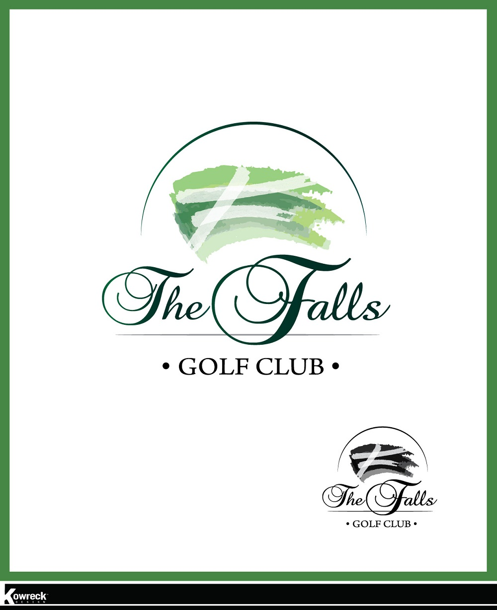Logo Design by kowreck - Entry No. 22 in the Logo Design Contest The Falls Golf Club Logo Design.