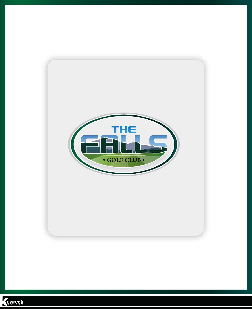 Logo Design by kowreck - Entry No. 23 in the Logo Design Contest The Falls Golf Club Logo Design.