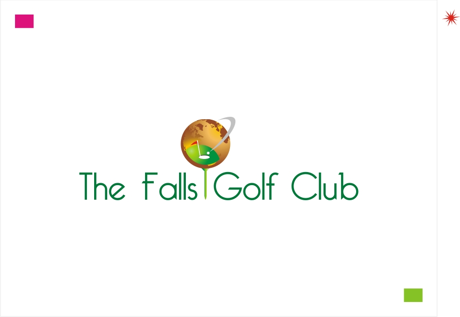 Logo Design by Private User - Entry No. 25 in the Logo Design Contest The Falls Golf Club Logo Design.