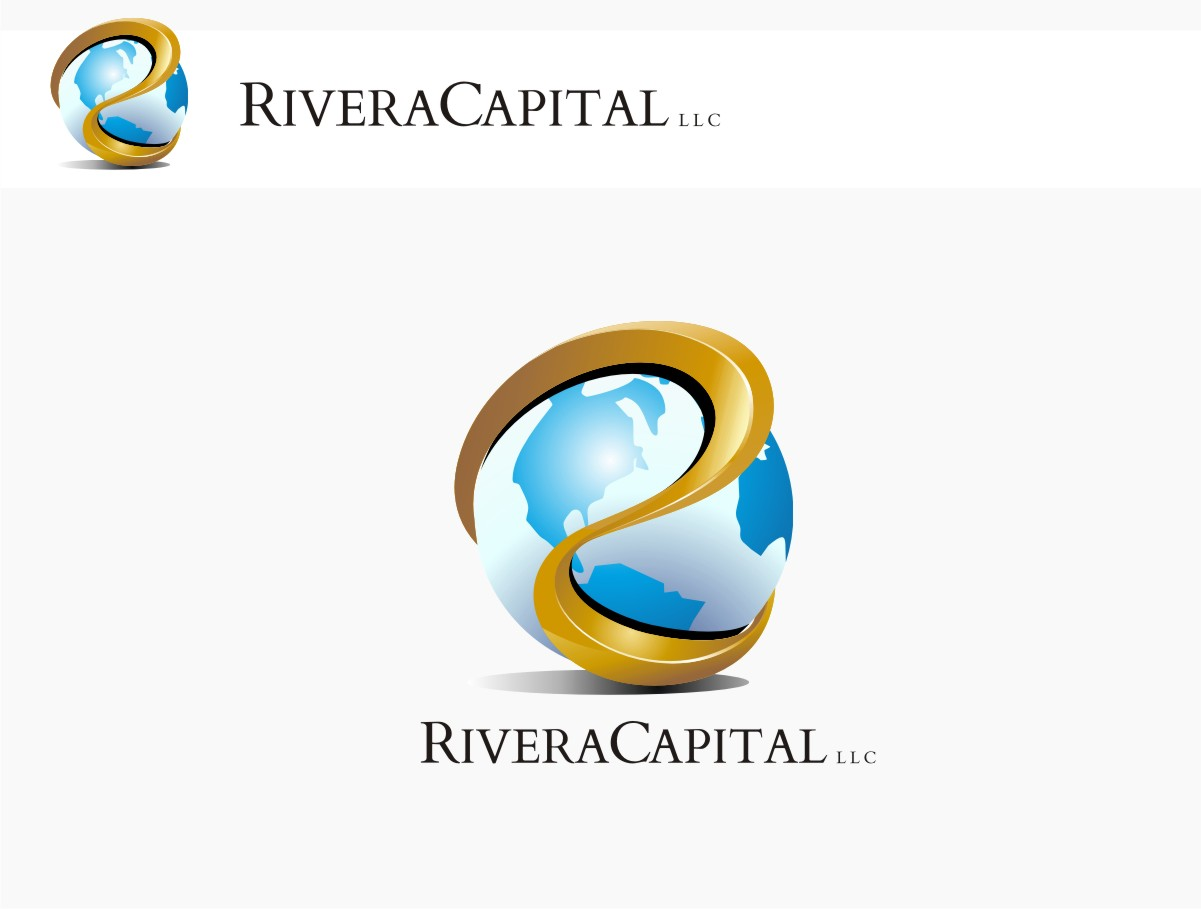 Logo Design by graphicleaf - Entry No. 101 in the Logo Design Contest Logo Design Needed for Exciting New Company Rivera Capital LLC LLC.