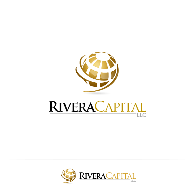 Logo Design by zesthar - Entry No. 109 in the Logo Design Contest Logo Design Needed for Exciting New Company Rivera Capital LLC LLC.