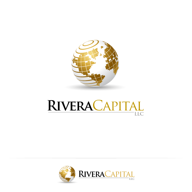 Logo Design by zesthar - Entry No. 110 in the Logo Design Contest Logo Design Needed for Exciting New Company Rivera Capital LLC LLC.