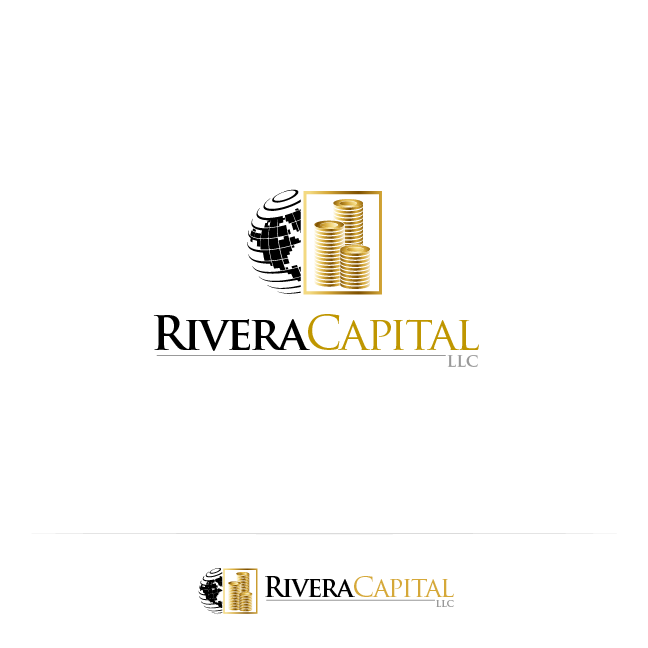 Logo Design by zesthar - Entry No. 111 in the Logo Design Contest Logo Design Needed for Exciting New Company Rivera Capital LLC LLC.