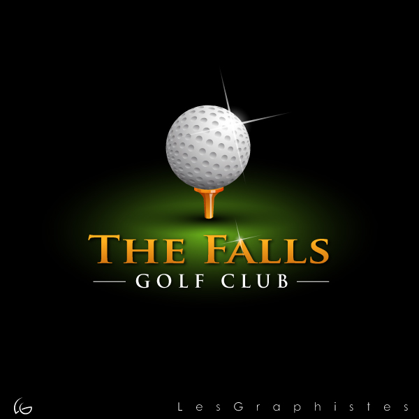 Logo Design by Les-Graphistes - Entry No. 30 in the Logo Design Contest The Falls Golf Club Logo Design.