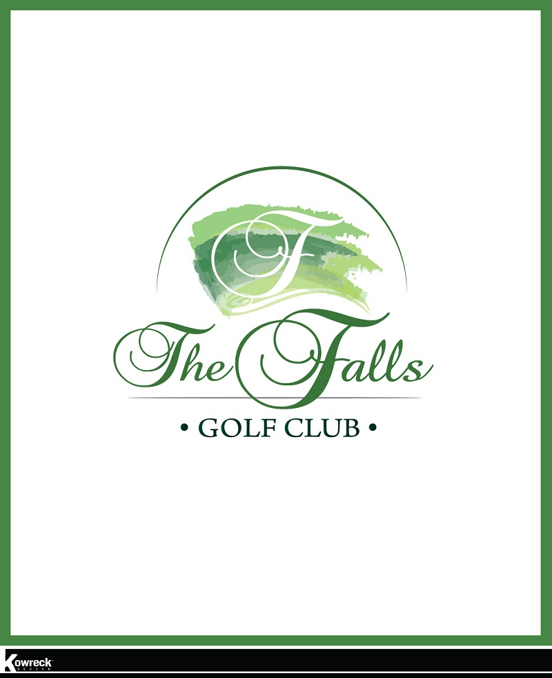 Logo Design by kowreck - Entry No. 33 in the Logo Design Contest The Falls Golf Club Logo Design.