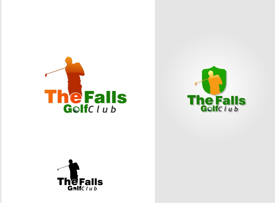 Logo Design by Private User - Entry No. 37 in the Logo Design Contest The Falls Golf Club Logo Design.