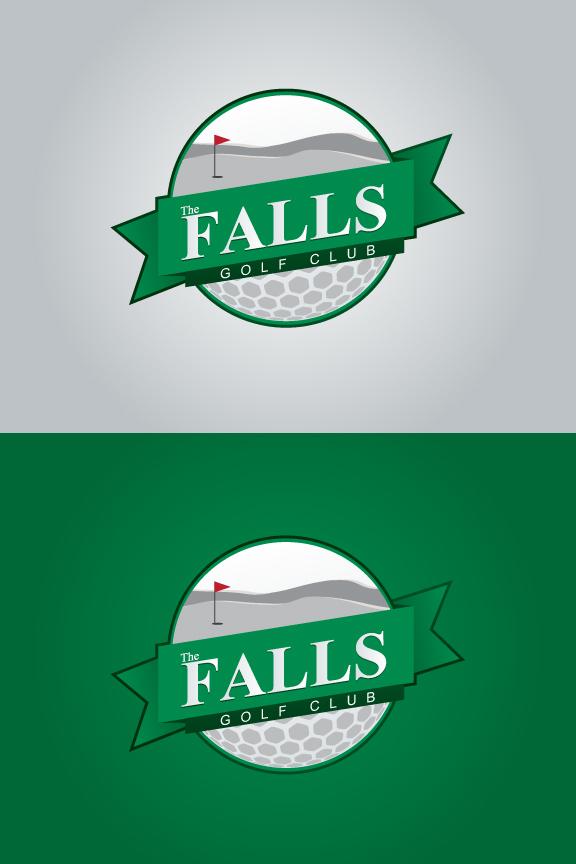 Logo Design by Top Elite - Entry No. 45 in the Logo Design Contest The Falls Golf Club Logo Design.