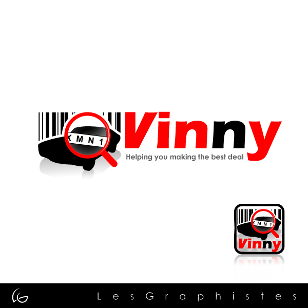 Logo Design by Les-Graphistes - Entry No. 5 in the Logo Design Contest Unique Logo Design Wanted for Vinny.