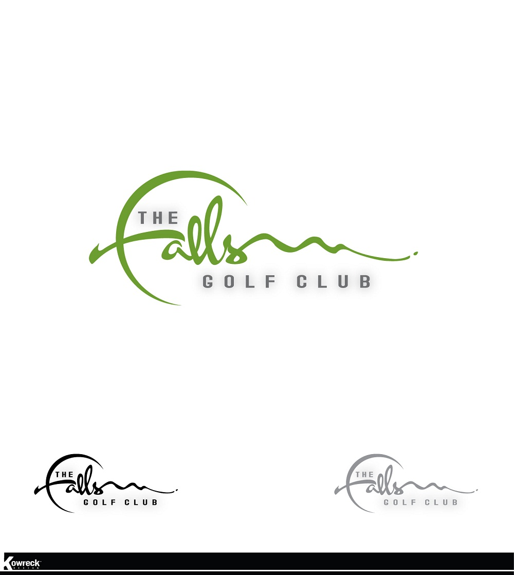 Logo Design by kowreck - Entry No. 46 in the Logo Design Contest The Falls Golf Club Logo Design.