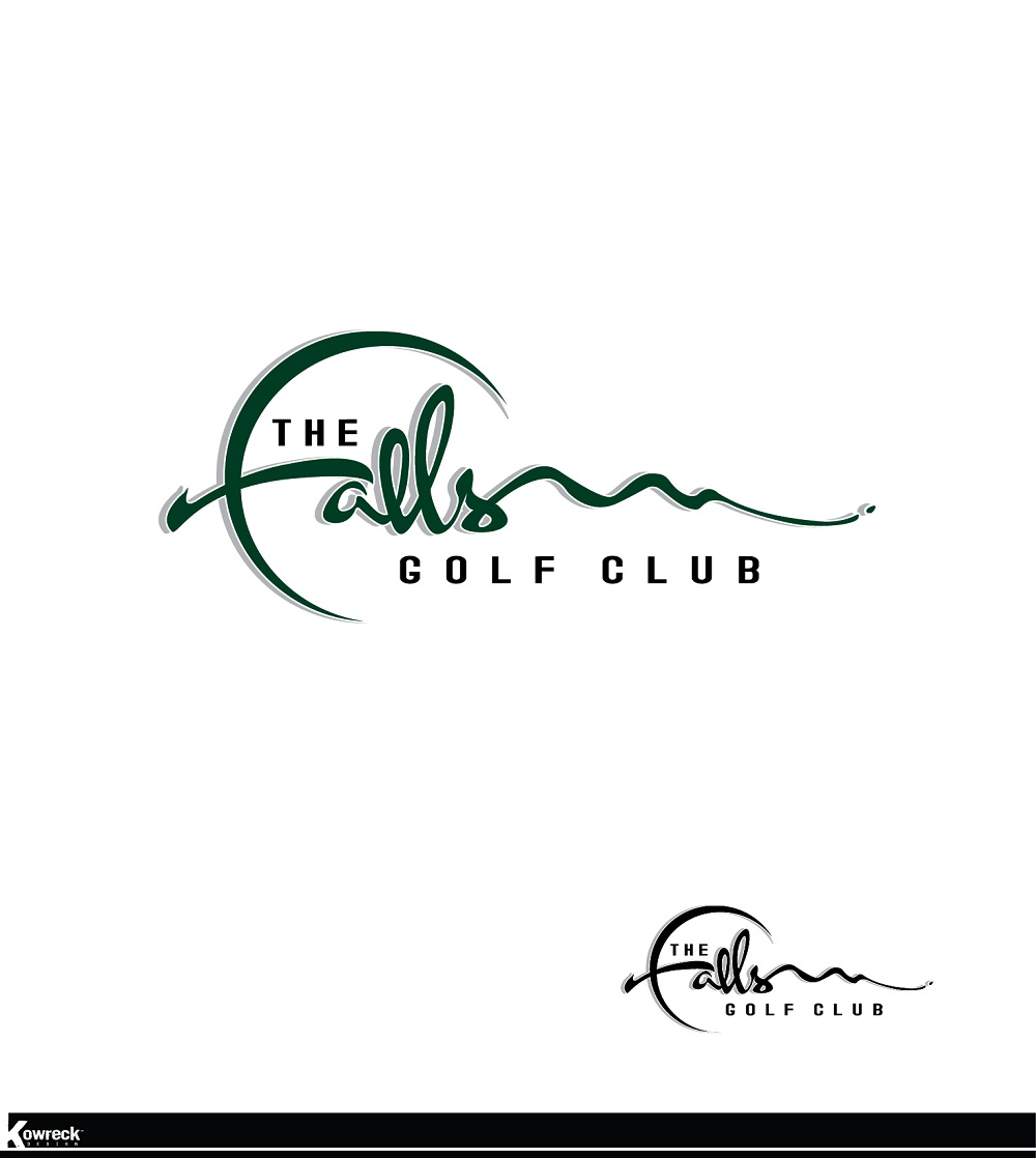 Logo Design by kowreck - Entry No. 47 in the Logo Design Contest The Falls Golf Club Logo Design.