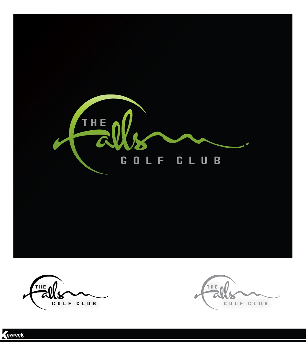 Logo Design by kowreck - Entry No. 48 in the Logo Design Contest The Falls Golf Club Logo Design.