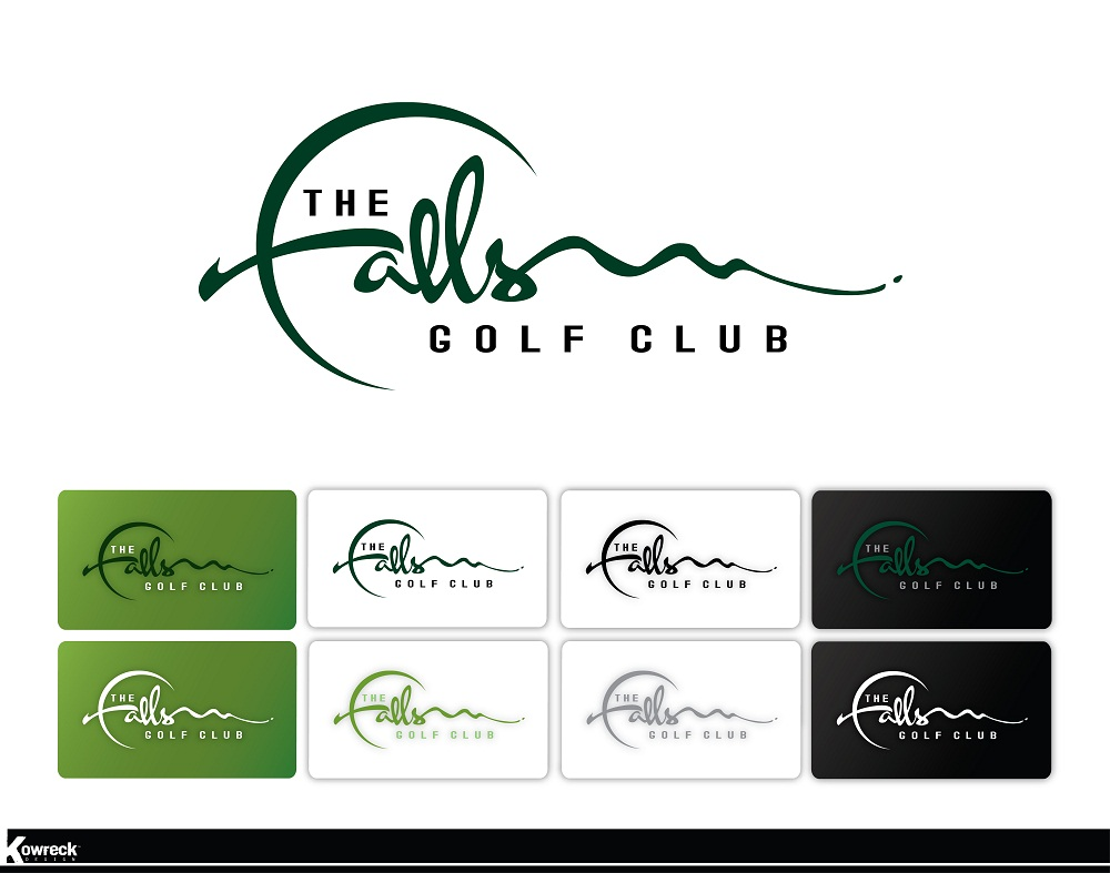 Logo Design by kowreck - Entry No. 49 in the Logo Design Contest The Falls Golf Club Logo Design.