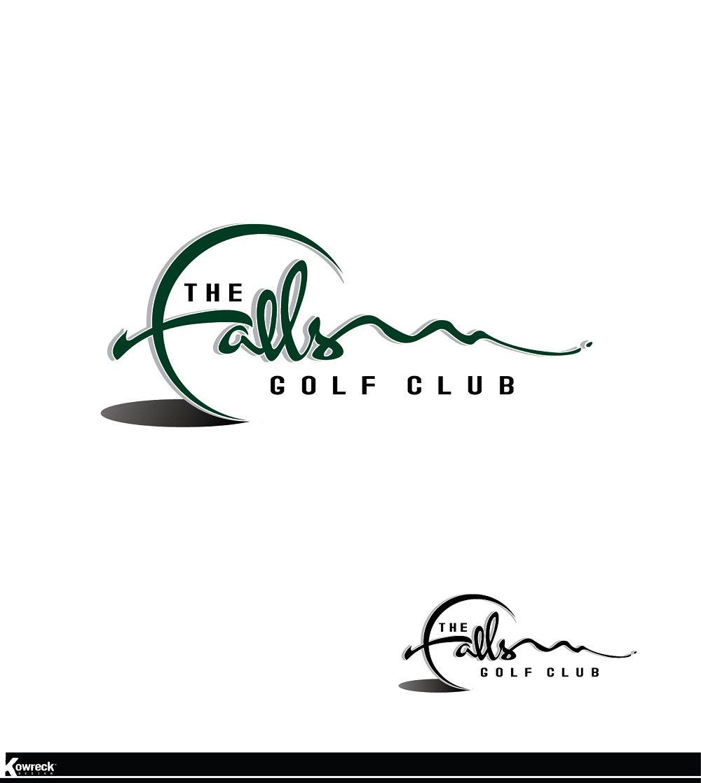 Logo Design by kowreck - Entry No. 50 in the Logo Design Contest The Falls Golf Club Logo Design.