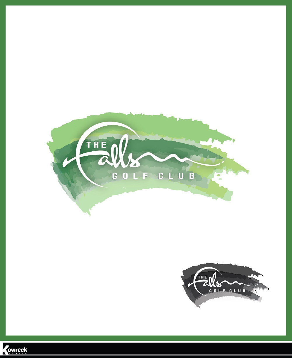 Logo Design by kowreck - Entry No. 52 in the Logo Design Contest The Falls Golf Club Logo Design.