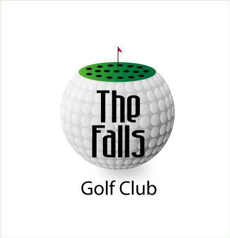 Logo Design by LogoHoldings - Entry No. 53 in the Logo Design Contest The Falls Golf Club Logo Design.