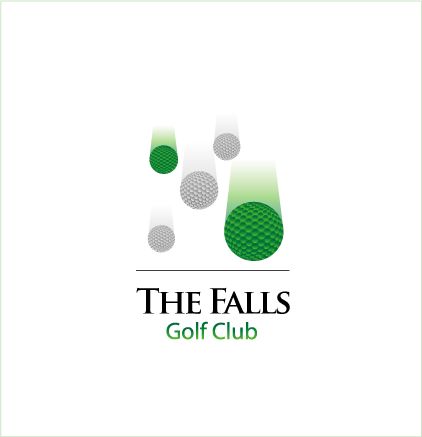 Logo Design by LogoHoldings - Entry No. 55 in the Logo Design Contest The Falls Golf Club Logo Design.
