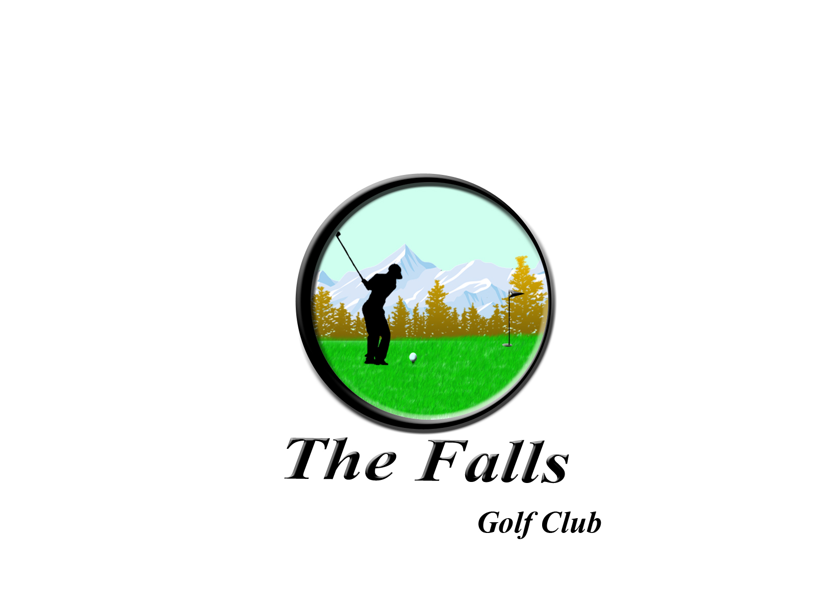 Logo Design by Mythos Designs - Entry No. 62 in the Logo Design Contest The Falls Golf Club Logo Design.