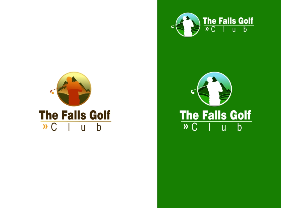 Logo Design by Private User - Entry No. 63 in the Logo Design Contest The Falls Golf Club Logo Design.