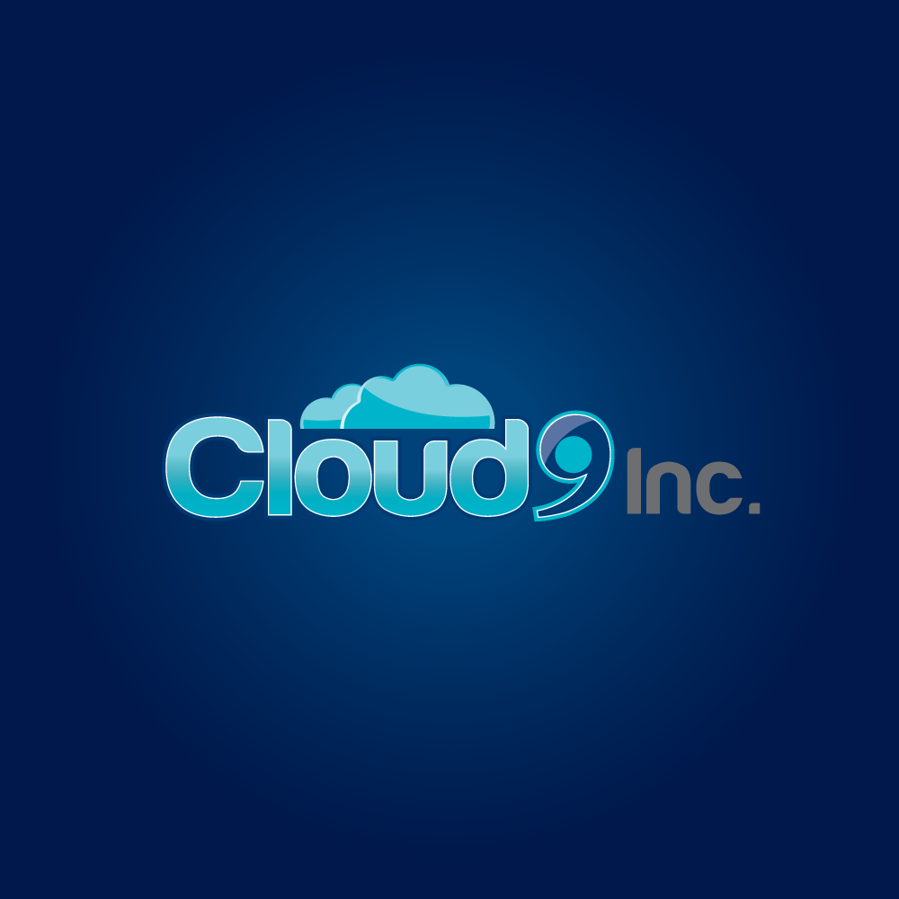 Logo Design by rockin - Entry No. 2 in the Logo Design Contest Unique Logo Design Wanted for Cloud 9 Inc.