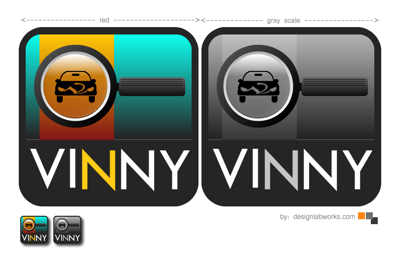Logo Design by Private User - Entry No. 23 in the Logo Design Contest Unique Logo Design Wanted for Vinny.