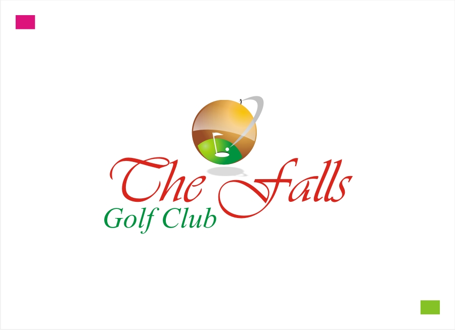 Logo Design by Private User - Entry No. 64 in the Logo Design Contest The Falls Golf Club Logo Design.