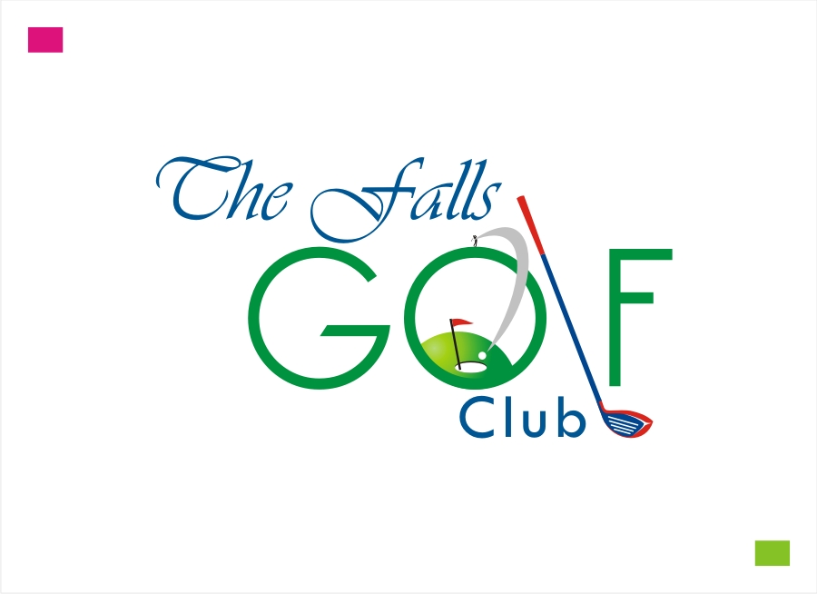 Logo Design by Private User - Entry No. 65 in the Logo Design Contest The Falls Golf Club Logo Design.