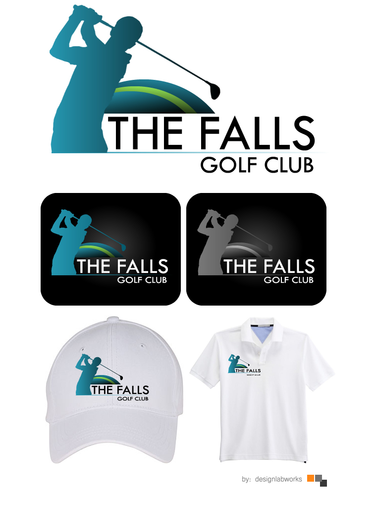 Logo Design by Private User - Entry No. 67 in the Logo Design Contest The Falls Golf Club Logo Design.