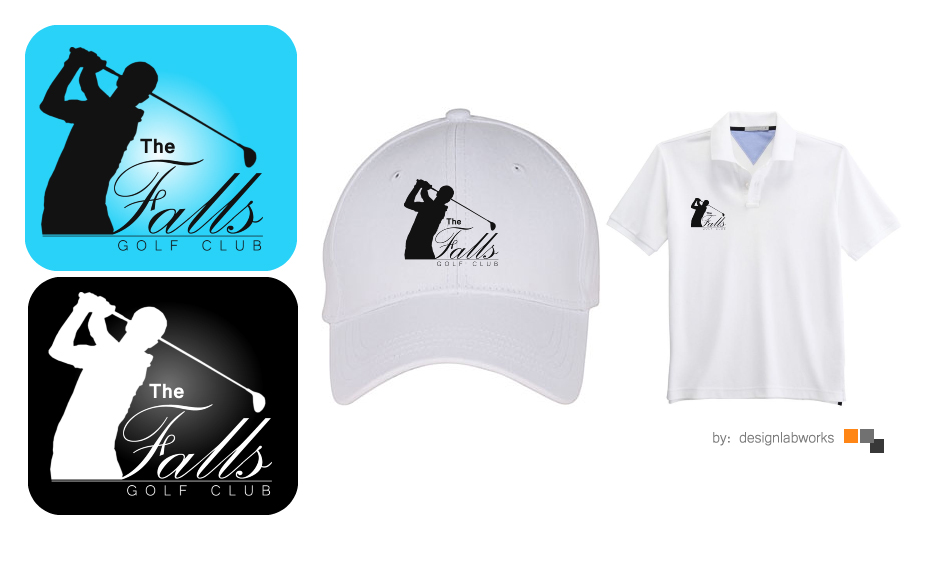Logo Design by Private User - Entry No. 68 in the Logo Design Contest The Falls Golf Club Logo Design.