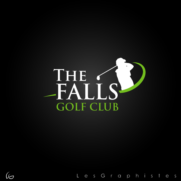 The Falls Golf Club Logo Design Hiretheworld