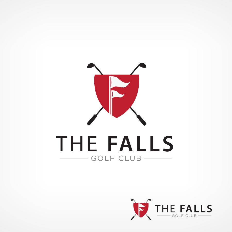 Logo Design by Edward Goodwin - Entry No. 76 in the Logo Design Contest The Falls Golf Club Logo Design.