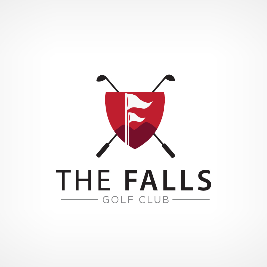 Logo Design by Edward Goodwin - Entry No. 77 in the Logo Design Contest The Falls Golf Club Logo Design.